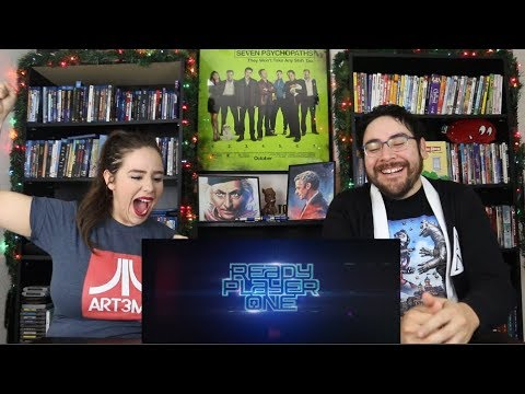 Ready Player One - Official Trailer 1 Reaction / Review
