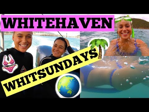 WHITSUNDAY ISLANDS : WHITEHAVEN / OCEAN RAFTING VLOG 2 ~ Southern Lights Tour