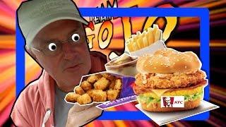 Kfc Hcg Box Fill Ups (inc Salt & Vinegar Popcorn Chicken) Taste Test & Drive Thru Review