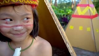 เจอหมู่บ้านเผ่ากินคน-กล่องกระดาษ-สุดอลังการ-ep-3-ละครสั้น-fun-family-box-fort-moana