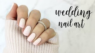 Bridal Nail Art + VOTE for my Wedding Nails!