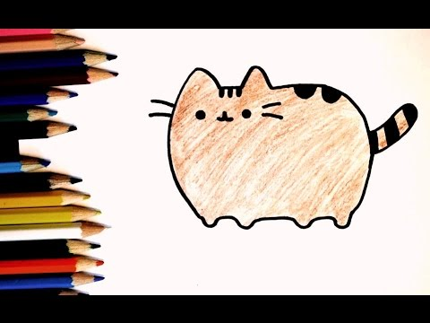 Как нарисовать кота поэтапно. Часть 4.