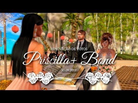 Renovação de Votos - Priscilla e Bond - 30set2018 - Secondlife