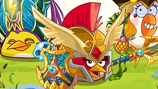 Angry Birds Epic - Unlocked Matilda's Elite Cleric World Boss Tinker Titan Completed!