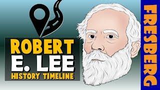 Amerikan İç Savaşı Gerçekler: General Robert E. Lee | Eğitim Videoları - Çizgi Film Biyografi