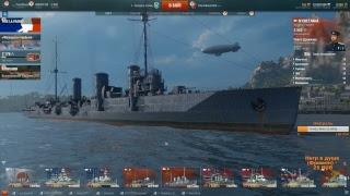 Dozkoz и World of Warships. 5 стрим.