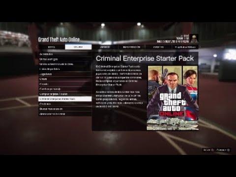 nuevo pack de gta online criminal enterprise starter pack youtube. Black Bedroom Furniture Sets. Home Design Ideas