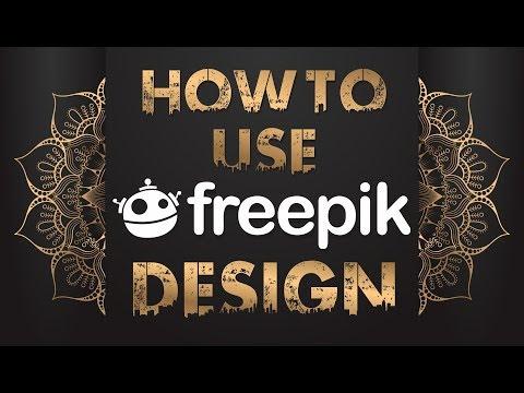 How To Use - Freepik - Design In CorelDraw | Illustrator | Adobe Photoshop