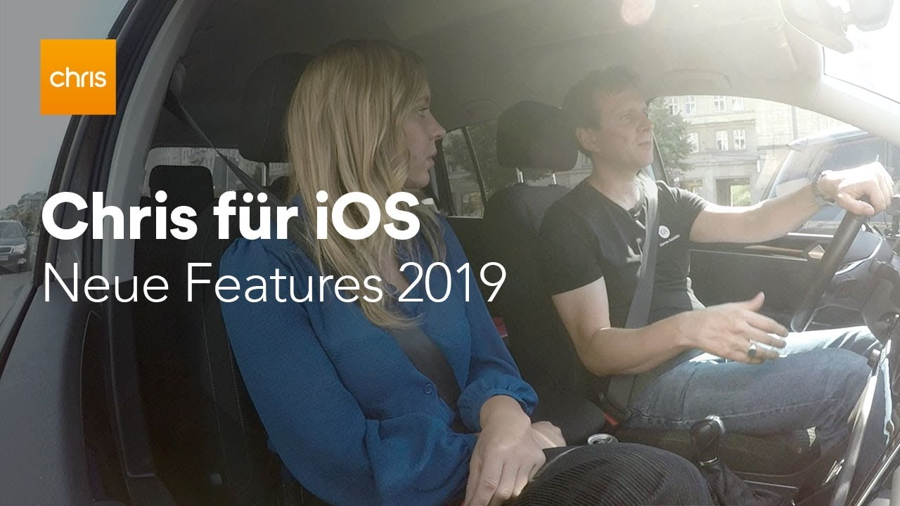 Video: Chris für iOS: Live-Demo inkl. Offline-Karten, WhatsApp, nächste Features
