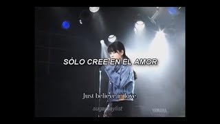 Artista: Zard Canción: Just Believe in Love Álbum: Forever You Fech...