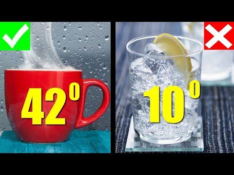 Что произойдет с телом если пить теплую воду натощак