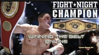 Winning The Heavyweight Title Belt Online! - Fight Night Champion