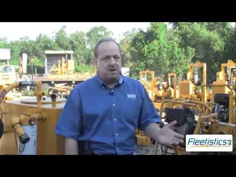 Fleetistics - Equipment GPS Tracking - Equipment Rental Industry