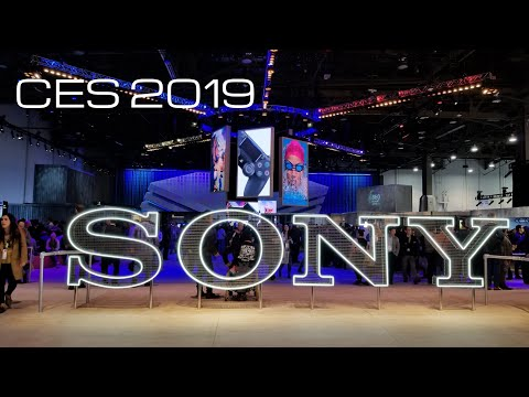 Sony at CES 2019 Master Series TVs