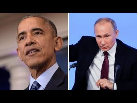 President Obama retaliates against Russia