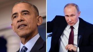 President Obama retaliates against Russia