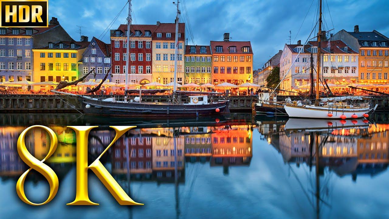Denmark Tour 8K HDR 60FPS DEMO