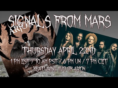 Signals From Mars Presented By Mars Attacks Podcast - April 22th, 2021
