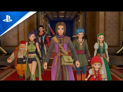 Dragon Quest XI S: Echoes of an Elusive Age - Definitive Edition   TGS 2020 Trailer   PS4