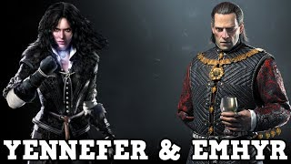 Netflix The Witcher - Yennefer Photo and Emperor Emhyr Casting News