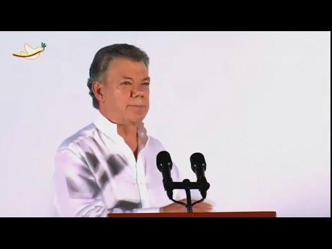 """Santos da la """"bienvenida"""" a la democracia a las FARC -"""