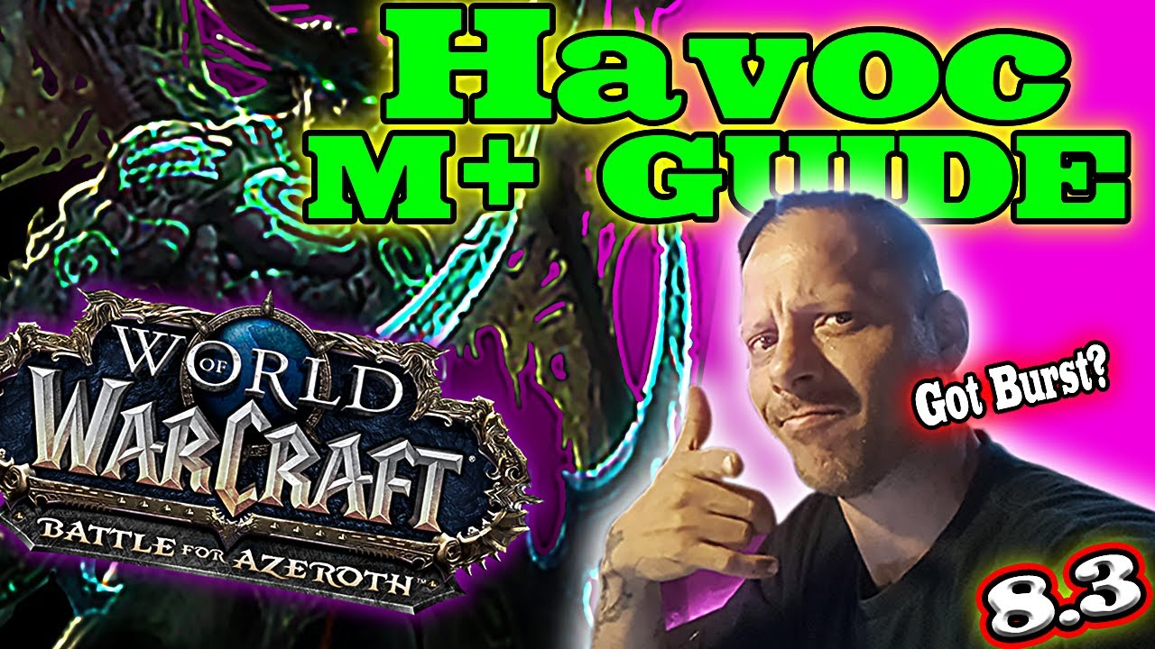 (NEW 8.3) Havoc DH Mythic+ || ULTIMATE Guide