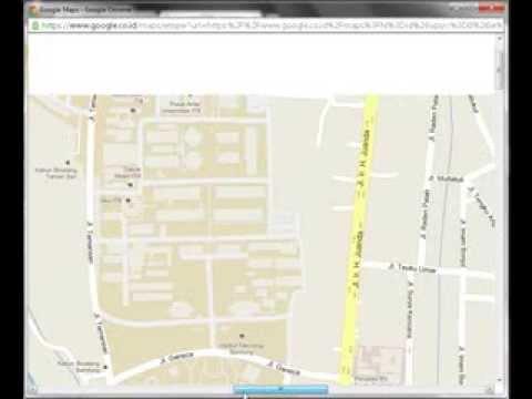 Cara mudah mengambil peta dari google maps ukuran tanpa batas