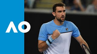 Cilic takes it to five after thrilling tiebreak | Australian Open 2019