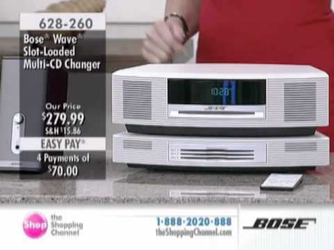 Bose Wave Multi CD Changer at The Shopping Channel 628260