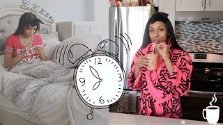 My SPRING MORNING ROUTINE | Clear Skin Routine, Breakfast, and Outfit!