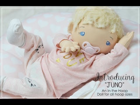 Premiere of In The Hoop JUNO Baby by Planet Applique