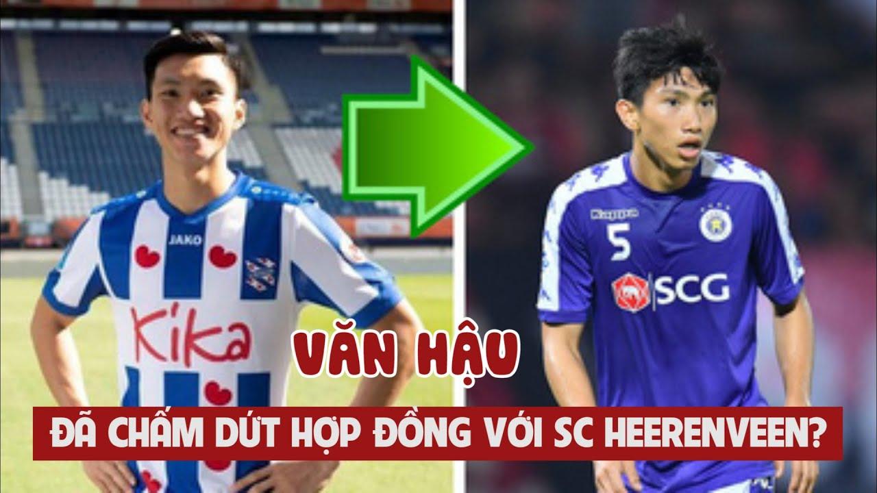 Transfermarkt đưa tin Văn Hậu đã chấm dứt hợp đồng với SC Heerenveen và chờ ngày về Hà Nội