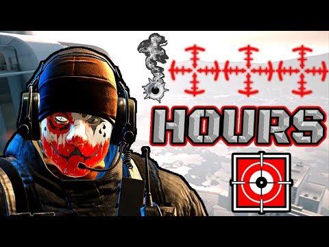 What 1000 HOURS of GLAZ Experience Looks Like - Rainbow Six Siege