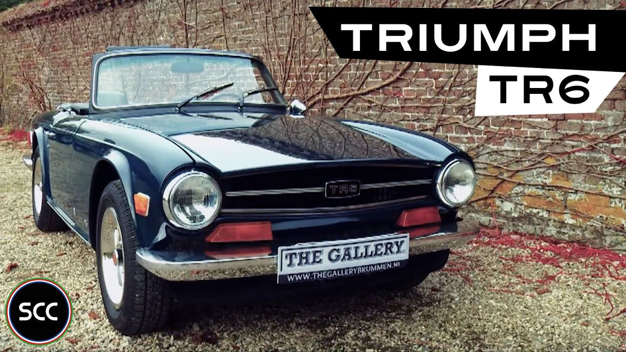 Triumph Tr6 Convertible 1976 Modest Test Drive Engine Sound