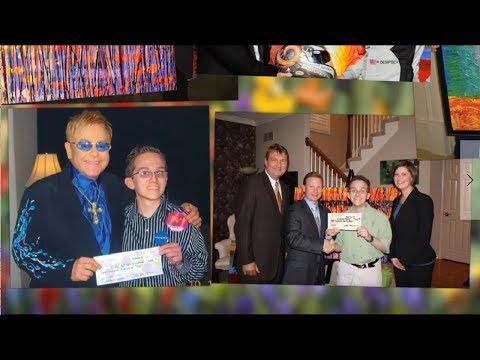 Blind Artist Beats Odds, Gives Back