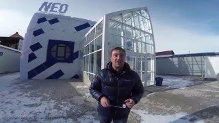 Руслан Гугкаев путеводитель по Осетии, обзор интерактивного ресторана NEO