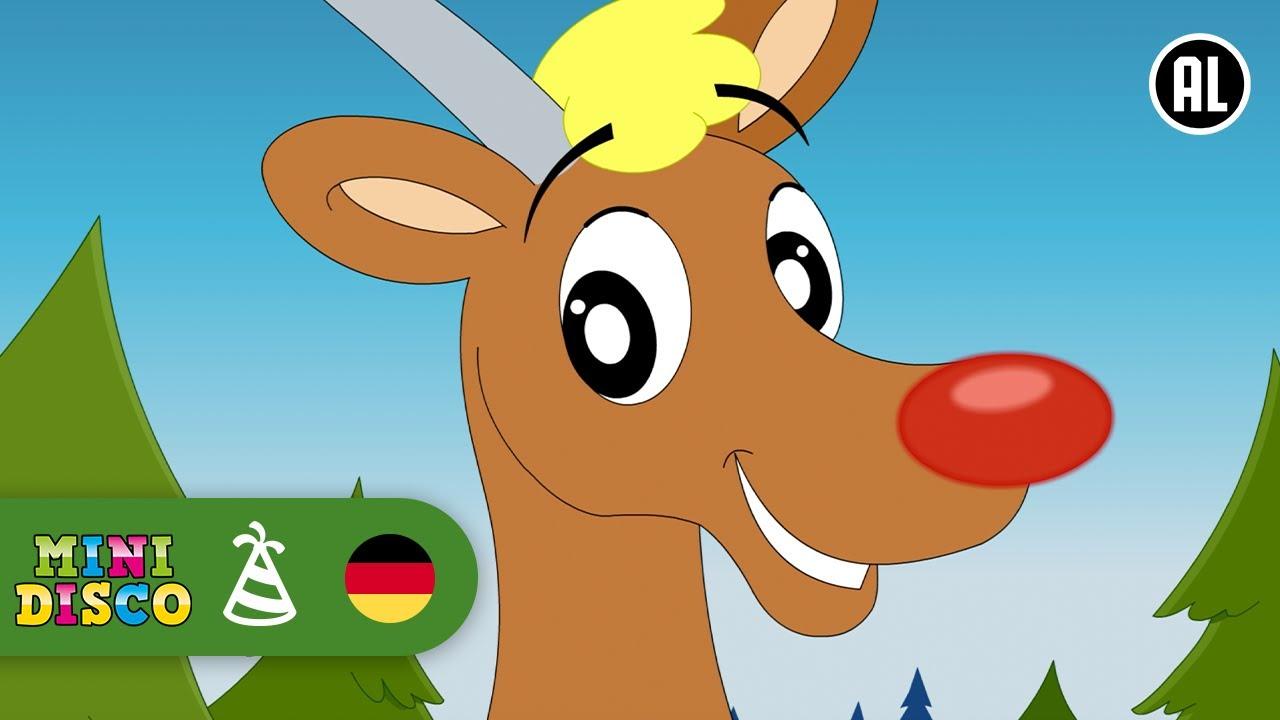 Rudolf Das Kleine Rentier | Weihnachtslieder | FROHE WEIHNACHTEN ...