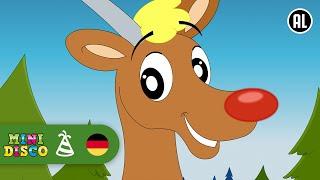 Rudolf Das Kleine Rentier | Weihnachtslieder | FROHE WEIHNACHTEN | Kinderlieder | Minidisco