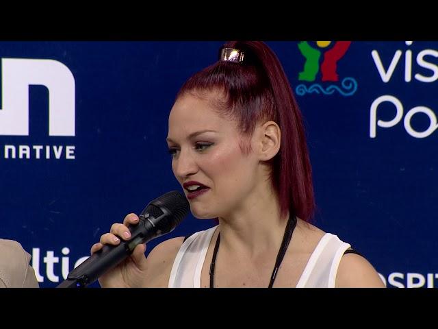 Jessika featuring Jenifer Brening | São Marinho | Press Conference | Eurovisão 2018