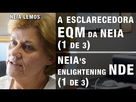 A esclarecedora EQM da NEIA 1de3 | NEIA's enlightening NDE 1of3