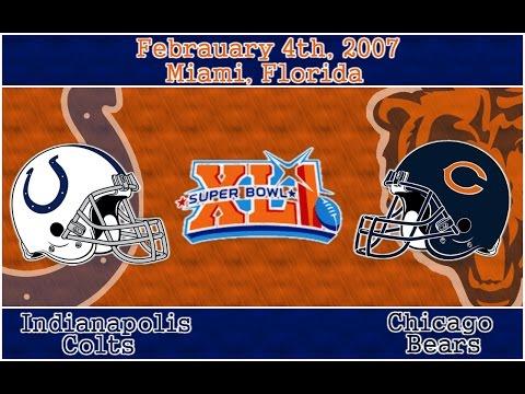 Madden NFL 07 - Xbox 2006 (Super Bowl XLI CHI vs IND)
