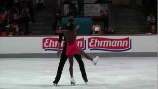 Nebelhorn-Trophy 2012 Vanessa JAMES  Morgan CIPRES FRA SP