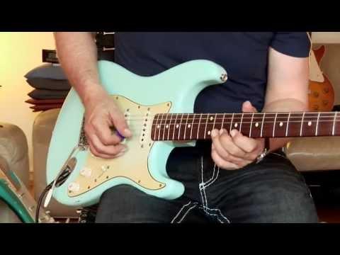 2003 Fender Custom Shop 1960 Stratocaster, relic, Sonic Blue, Part1