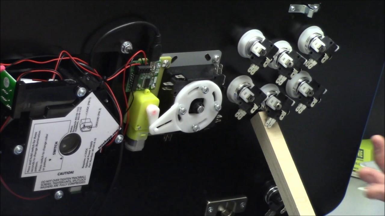Ultimarc Servostik 4 Way To 8 Demo How It Works And Joystick Switch Install