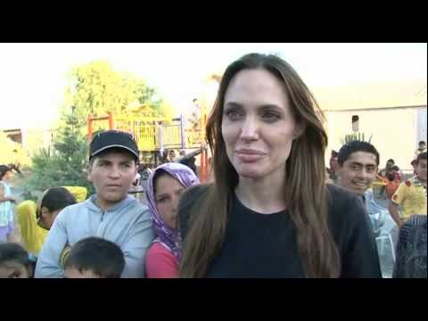 Turkey: Angelina Jolie Meets Syrian Refugees