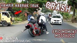GW CRASH HAMPIR NABRAK TRUK - SUNMORI PART II