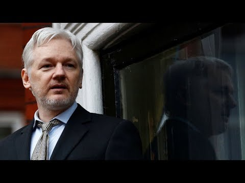 TAPE: Assange's last video before communications cut at Ecuadorian Embassy in London (FULL)