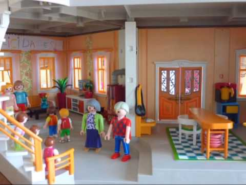 Playmobil - Una loca familia - El cumpleaños del abuelo