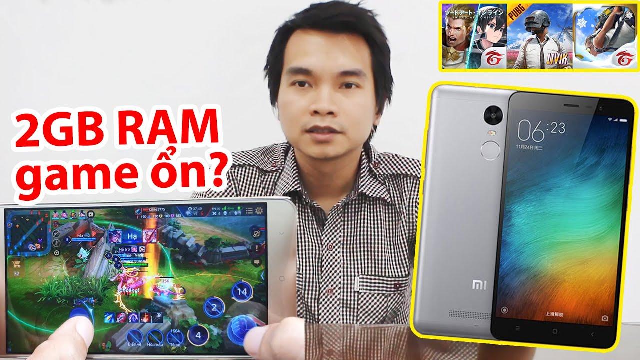 TEST GAME Redmi Note 3 Pro Chơi Liên Quân PUBG Free Fire | Mua Điện Thoại Giá Rẻ Shopee