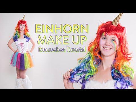 Einhorn Make-Up Tutorial